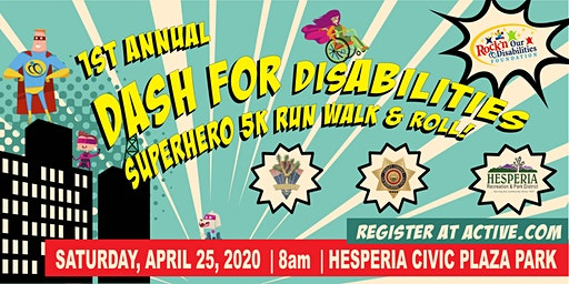 Dash for disABILITIES Superhero 5K Walk, Run, & Roll