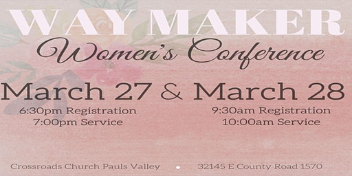 Way Maker Women's Conference