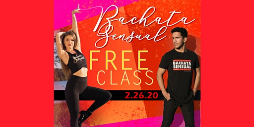 FREE Bachata Sensual Class W/ Anastasia & Jovanny