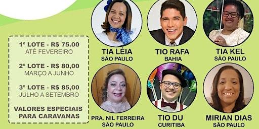4° SEMINÁRIO - PREPARANDO CRIANÇAS PARA O ARREBATAMENTO