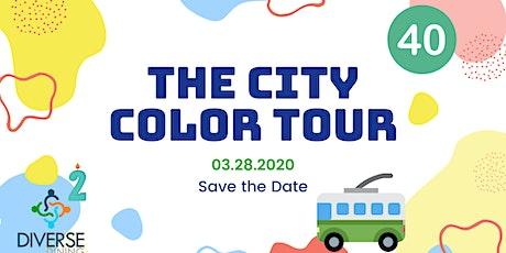 The City Color Tour tickets