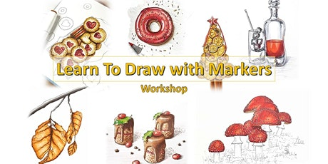 Learn To Draw with Markers - Workshop tickets