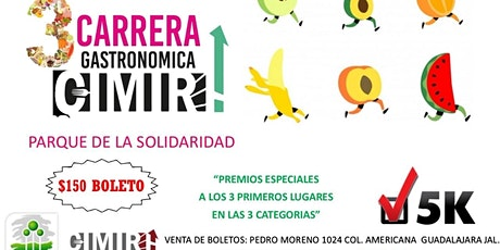 TERCER CARRERA  CIMIRH DE LA INDUSTRIA GASTRONÓMICA tickets