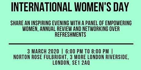 AML's International Women's Day and Annual Review tickets