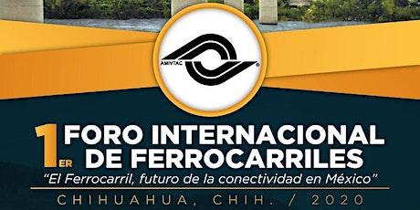 PRIMER FORO INTERNACIONAL DE FERROCARRILES entradas