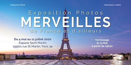 """Vernissage Expo """"Merveilles de France et d'ailleurs"""" billets"""