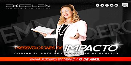 PRESENTACIONES DE IMPACTO tickets