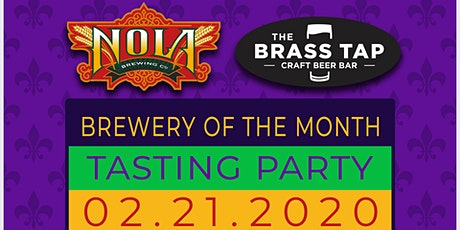 Brewery of the Month Tasting Party: Nola! tickets