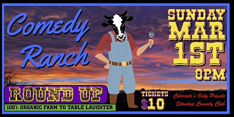 Comedy Ranch Round Up tickets