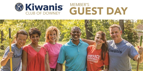 Kiwanis Club of Downey Member's Guest Day tickets