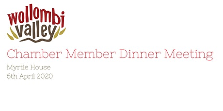 Chamber Members Dinner Meeting tickets