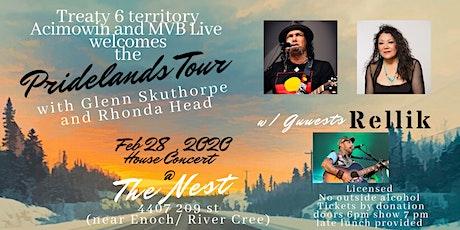 Pridelands Tour YEG with Glenn Skuthorpe and Rhonda Head tickets