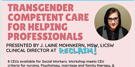 Trans Competent Care for Helping Professionals Training tickets