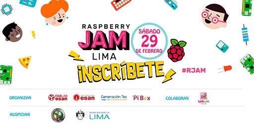 Raspberry Jam LIMA / 3rd Community Meetup