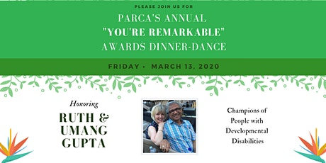 """You're Remarkable"" Annual  Awards Dinner-Dance tickets"