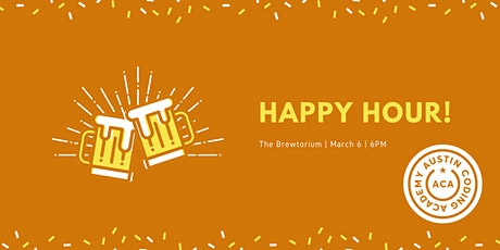 March Happy Hour tickets