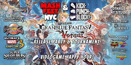 Mashfest Happy Hour: Granblue Launch! tickets