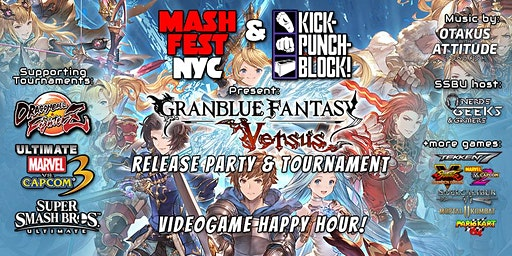 Mashfest Happy Hour: Granblue Launch!