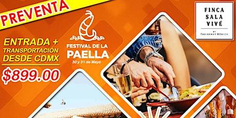 Festival de la Paella 2020 boletos