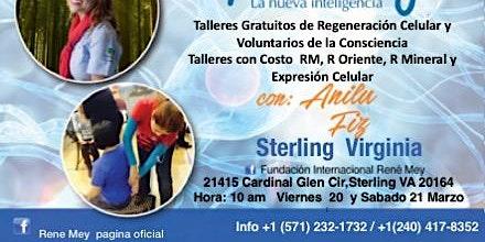 20 - 21 Marzo STERLING VA -Técnicas de Medicina Emocional Rene Mey