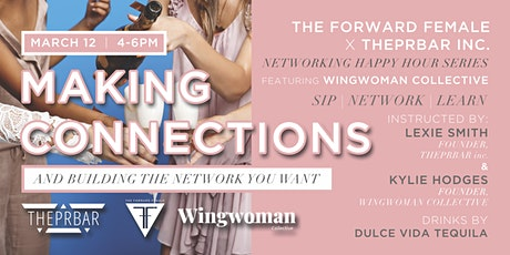 Networking Happy Hour: Making Connections + Building the Network You Want tickets