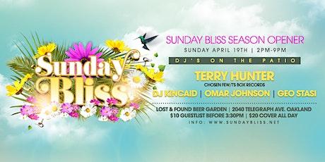 Sunday BLISS Season Opener w/ Terry Hunter tickets