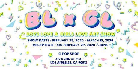BL x GL: Boys Love and Girls Love Art Show tickets