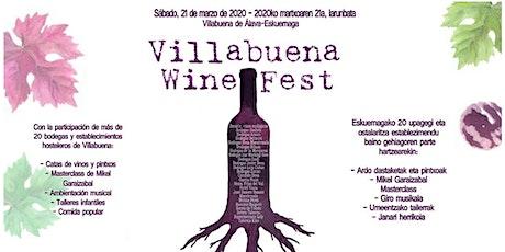 VILLABUENA WINE FEST entradas
