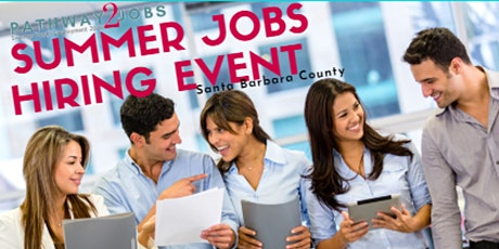 Pathway2Jobs: Summer Youth Employment Hiring Event - May 5, 6, 7, 2020 tickets