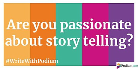 Podium.me audio drama introduction and networking evening London tickets