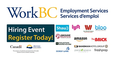 Job Fair - WorkBC Vancouver North East  tickets