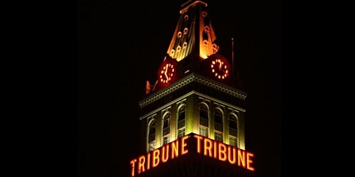 Odd Salon Excursions: Tribune Tower Top with John Law