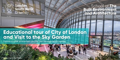 Educational Tour of City of London and Sky Garden tickets