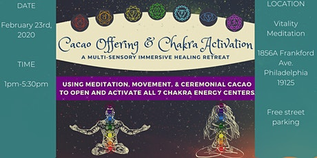 Energy Activation & Cacao Ceremony tickets