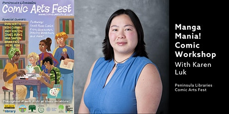 Manga Mania With Karen Luk - A PLCAF Event tickets