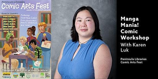 Manga Mania With Karen Luk - A PLCAF Event