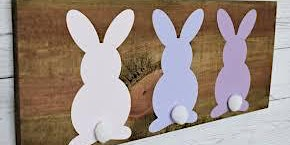 Easter Bunny Wood Sign Paint Class
