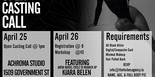 Celebrity Model Workshop Hosted by ANTM Finalist Kiara Belen