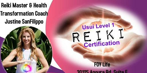 Usui Reiki Level 1 Certification