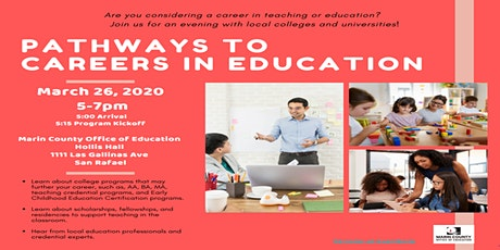 Pathways to Careers in Education tickets