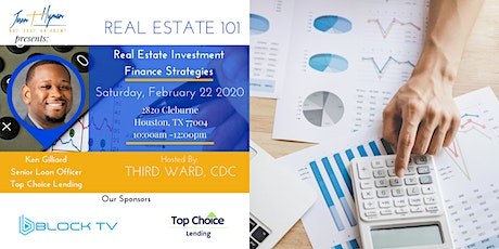Real Estate Investment Finance Strategies  with Ken Gilliard tickets