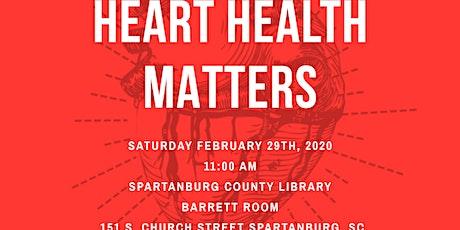Heart Health Matters tickets
