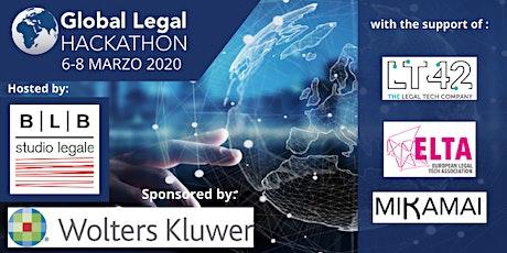 Global Legal Hackathon 2020 -  Italia biglietti