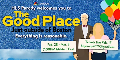 HLS Parody 2020: The Good Place......Just Outside of Boston