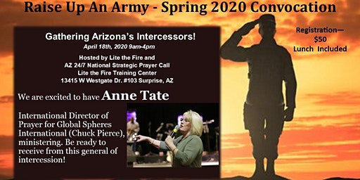 Raise Up an Army - Spring Intercessors Convocation