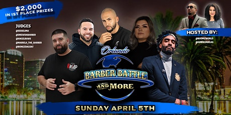Tickets - Orlando Barber Battle & More tickets