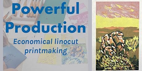 Powerful Production: Economical Linocut Printmaking tickets