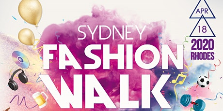 2020 Sydney Fashion Walk tickets
