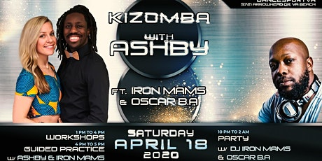 Kizomba with Ashby: ft Iron Mams & Oscar BA tickets