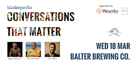 Conversations that Matter: Balter Brewing Co. tickets